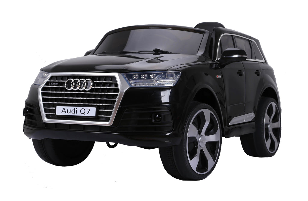 AUDI Q7 2016 Licensed 4x4 Kids Electric Ride On Car with Remote Control LED Lights and Music (JJ2188 BLACK)