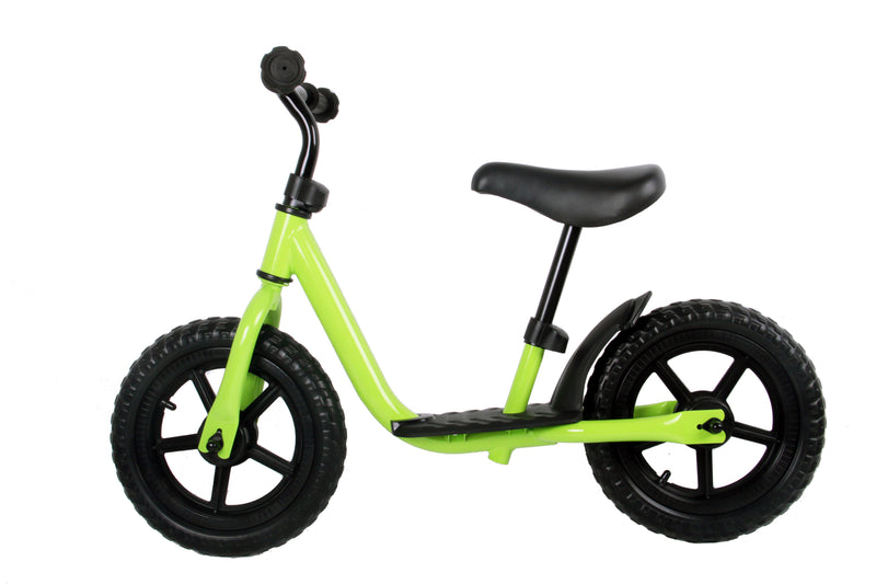 "RICCO® Balance Bike Red with 12"" EVA Wheels (Model: WB21) GREEN"