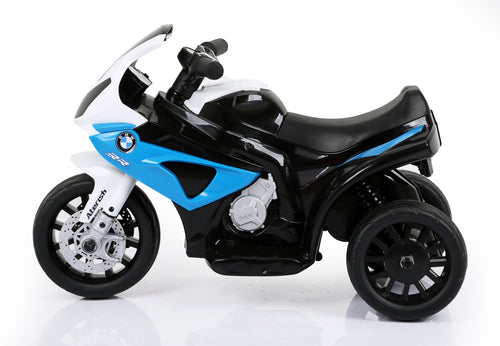 RICCO® BMW Licenced 6V 4.5A 35W Battery Powered Kids Electric Ride On Toy Motorcycle Bike (Model JT5188 BLUE)