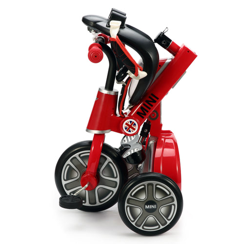 "RASTAR Genuine BMW Mini Official Licensed 10"" Mini Cooper Tricycle Trike (Model: RSZ3003) (Red)"