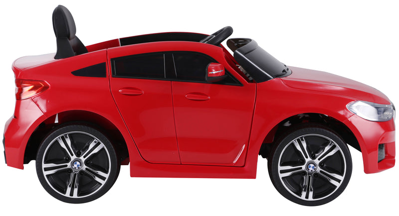 BMW 6 GT Lisenced TWO MOTORS Battery Powered Kids Electric Ride On Toy Car (Model: JJ2164) RED
