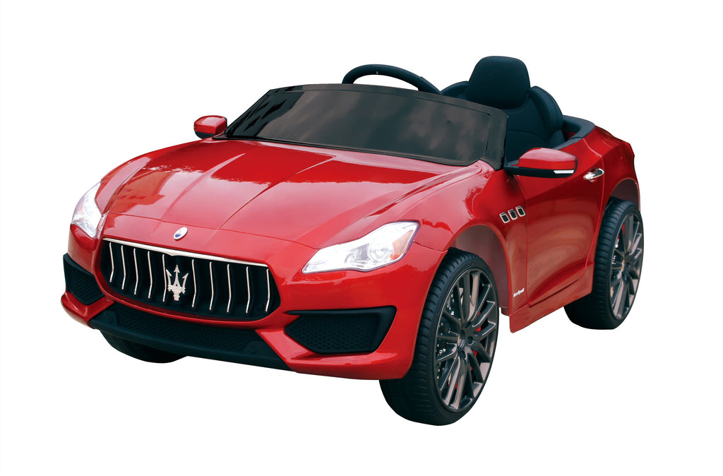 12V 7A Maserati Quattroporte Licenced Battery Powered Kids Electric Ride On Toy Car ZLG8588 RED