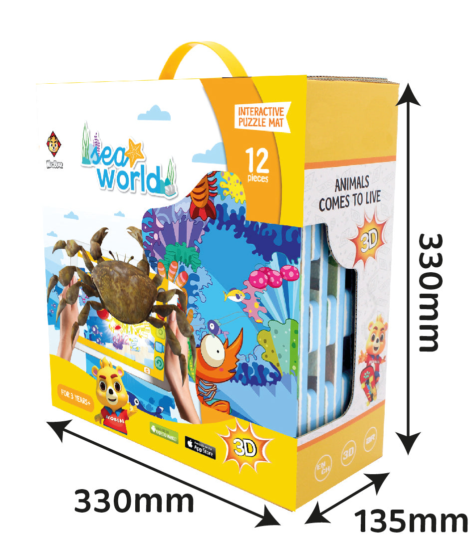 3D Interactive AR Popup EVA Puzzle Mat- SNB002 SEA WORLD