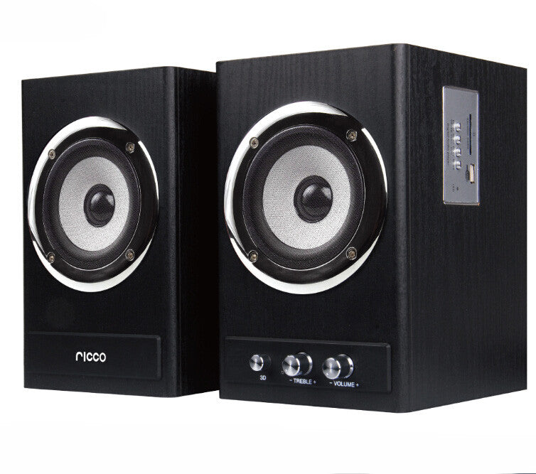 3.1 Channel Bluetooth Speaker 100W RMS AUX FM SD USB Input Remote Control (Model: T8203)