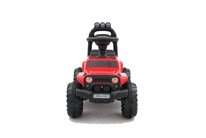 Kids 4x4 Mini Jeep Electric Ride On Foot to Floor Car Vehicle (Model: PB810) RED