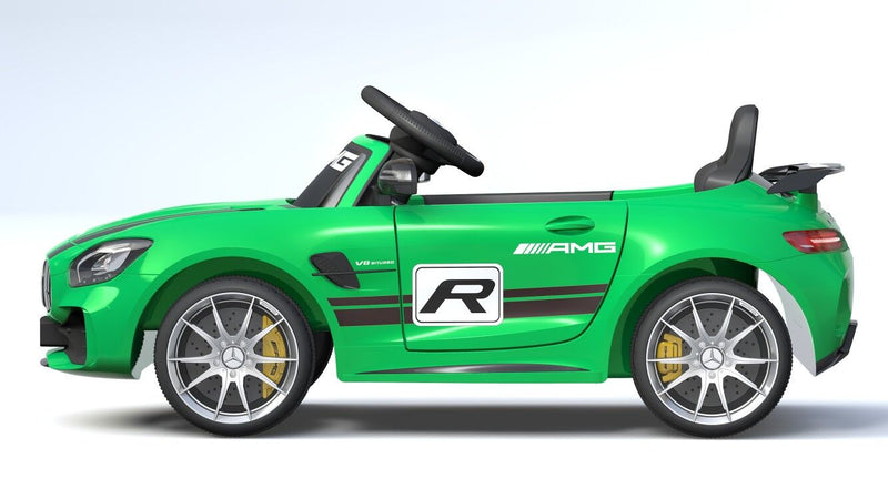 Mercedes Benz GTR AMG Licensed 6V 7A Battery Powered Kids Electric Ride On Toy Car (4 Colours)