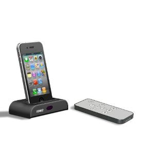 Universal iPod iPhone Docking Station Audio Output Charging with REMOTE CONTROL