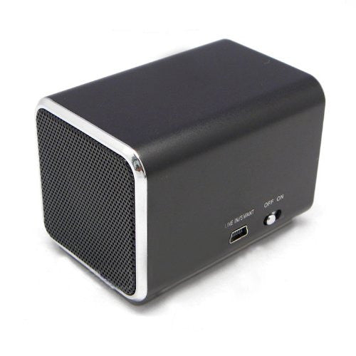 Ricco MD4 SUPER MINI DSP Ultra Portable Travel Speaker with Built-in Battery