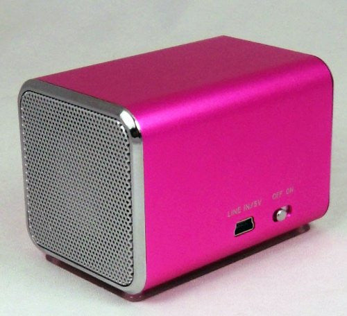RICCO® MD4 SUPER MINI DSP Ultra Portable Travel Speaker with Built-in Battery