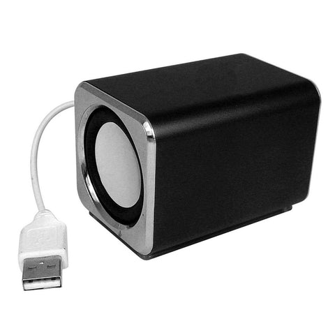 Ricco MD3 MINI DSP 2.0 CHANNEL Ultra Light Aluminium USB Portable Travel Speaker
