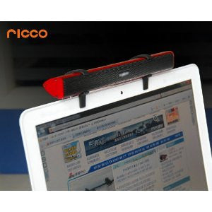 Ricco P26 2.0 CHANNEL Aluminium USB DRIVERLESS Travel Laptop Mac Speaker