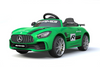 RICCO® Mercedes Benz GTR AMG Licensed 6V 7A Battery Powered Kids Electric Ride On Toy Car (Green)
