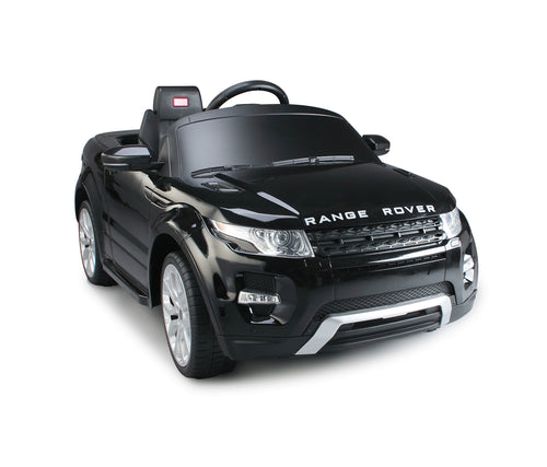 RASTAR Range Rover Evoque Licensed 12V Kids Electric Ride On Car with MP3 and Remote Control (Black)