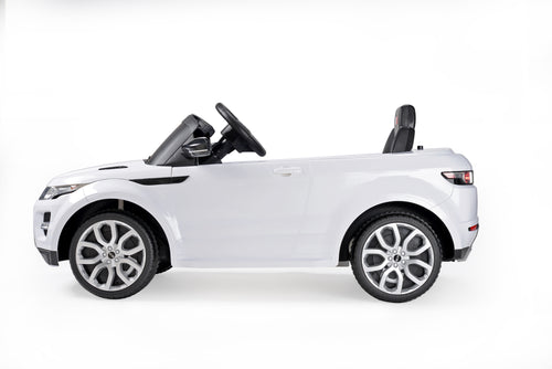 RASTAR Range Rover Evoque Licensed 12V Kids Electric Ride On Car with MP3 and Remote Control (White)
