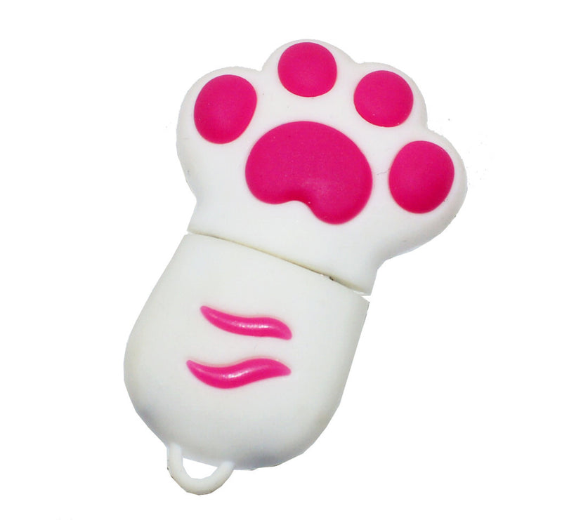 16GB 05-017 Lovely Kittens PAW Silicon USB 2.0 Flash Memory Drive Disk Pen Stick