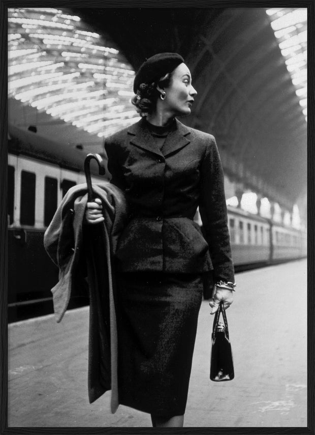 Woman at Station