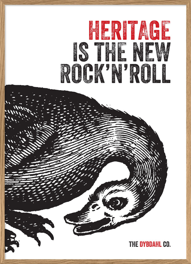 Heritage is the new Rock'N'Roll