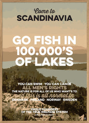 Go fish in 100.000's of lakes