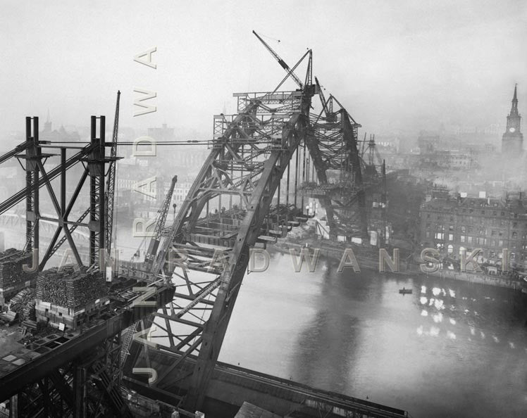 Tyne Bridge In Its Glory (1928) | Greeting Card