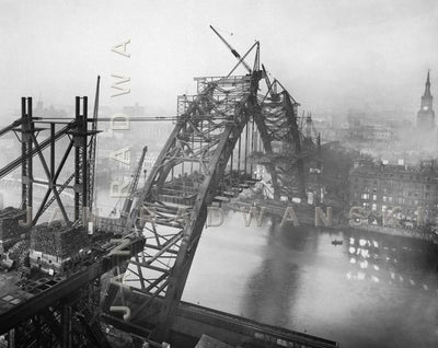 Tyne Bridge In Its Glory (1928) | Front View | Greeting Card