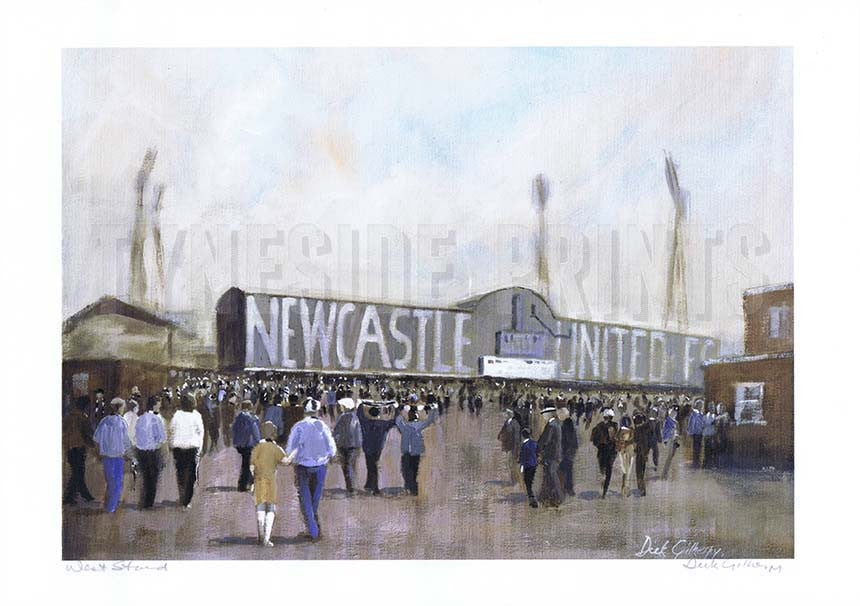 West Stand | Newcastle United Print | Tyneside Prints
