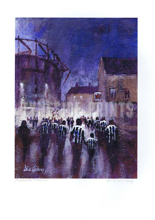 Midweek Match | Newcastle United Print | Tyneside Prints