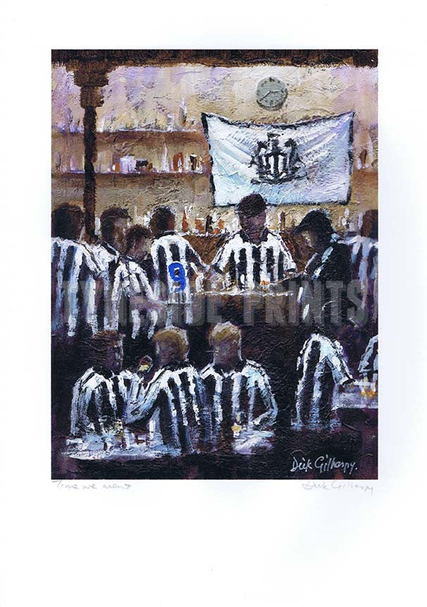 Time We Went | Newcastle United Print | Tyneside Prints