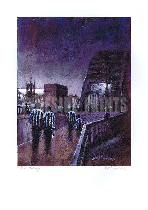 Toon Bridge | Newcastle United Print | Tyneside prints
