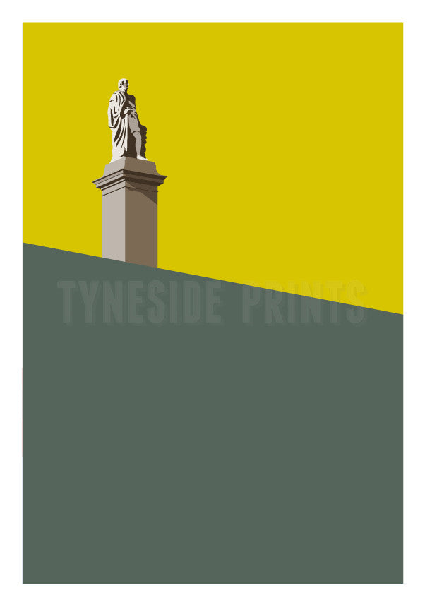 Collingwood Monument - Tynemouth | Art Print