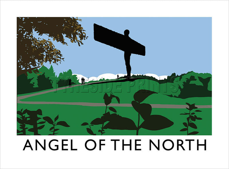 Angel of the North Art Print