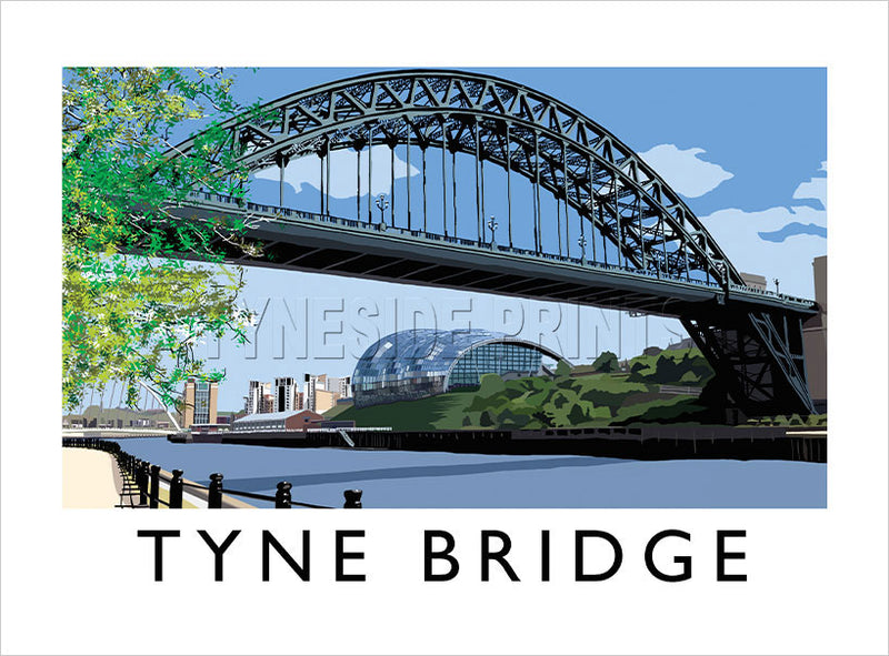Tyne Bridge - Art Print