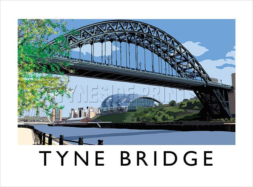 Tyne Bridge Art Print