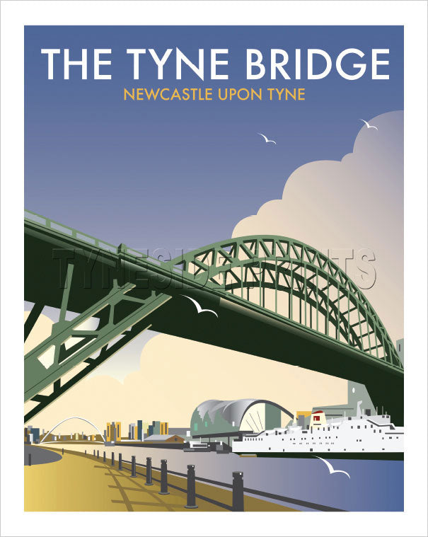 The Tyne Bridge Art Print