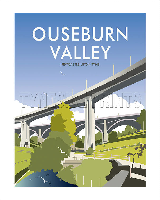 Ouseburn Valley - Newcastle - Art Print