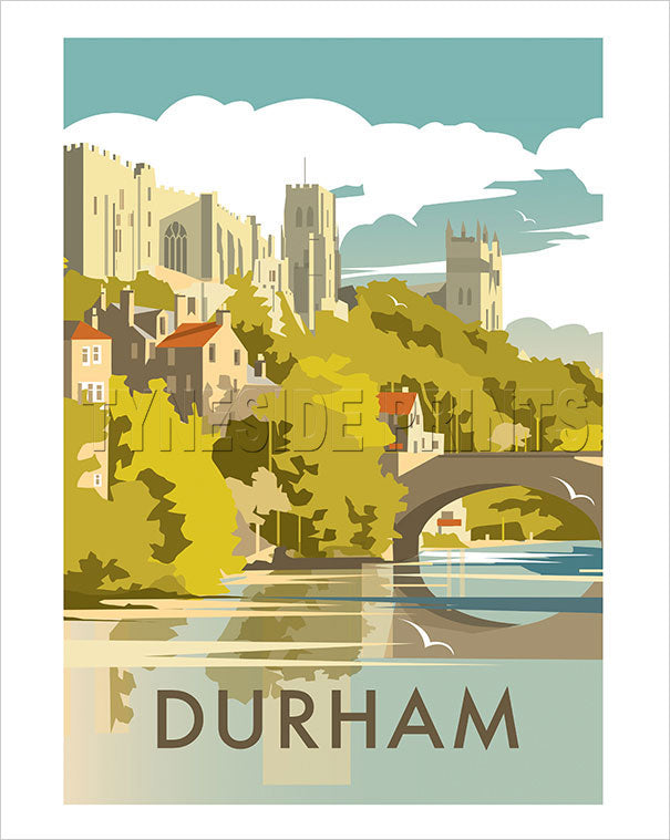 Durham Castle and Cathedral Art Print