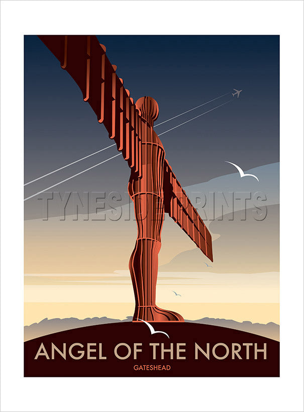 Angel of the North - Gateshead - Art Print