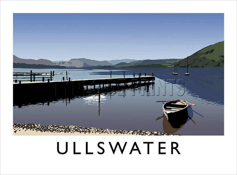 Ullswater - Lake District - Art Print