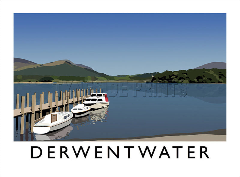 Derwentwater - Lake District - Art Print