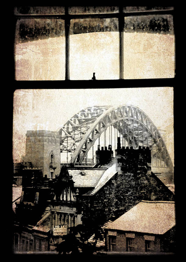 A Room With A View - Newcastle 1980 | Tyne Bridge Photographic Print