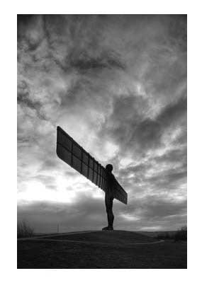 Angel Of The North | Photographic Card | Tyneside Prints