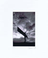 Angel Of The North | Black & White Photographic Mounted Print | Tyneside Prints