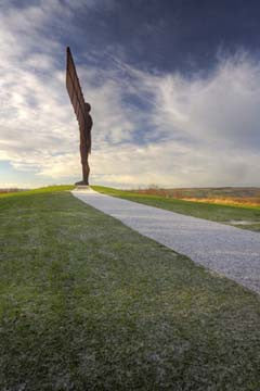 Angel Of The North | Colour Photographic Print | Tyneside Prints