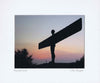 Angel Of The North | Colour Photographic Mounted Print | Tyneside Prints
