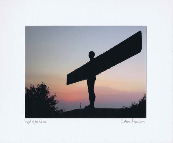 Angel Of The North | Colour Photographic Mounted Print