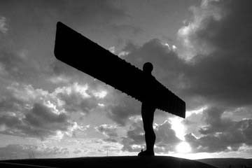 Angel Of The North | Black & White Photographic Print