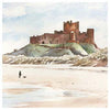 Bamburgh Castle | Northumberland | Greeting Card | Tyneside Prints