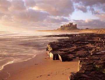Bamburgh Castle | Northumberland Coast | Colour Photographic Print
