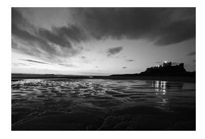 Bamburgh Castle | Photographic Card | Tyneside Prints