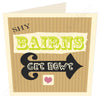 Shy Bairns Get Nowt | Geordie Card | Tyneside Prints