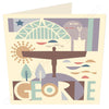 Geordie City | Geordie Card | Tyneside Prints